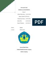 laporan tugas bahasa inggris