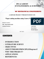 Minor Project Ppt Format (1) (1) (2)