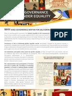 Gender Public Life Flyer
