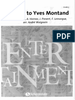 A Tribute to Yves Montand - Andre Waignein - score en parts.pdf