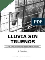 Gary Francione - Lluvia Sin Truenos