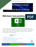 VBA Excel. Guía práctica. Aprende a crear macros en Excel desde cero.pdf