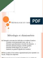 Cours de Metrologie