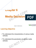 Chapter 6-Media Decisions