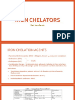 Iron chelators administering.ppt