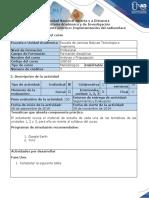 Guía Para El Desarrollo Del Componente Práctico - Fase 4 - Implementación Del Radioenlace