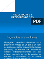 Reguladores y Medidores de Gas Tema 5