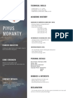 Resume of Piyus