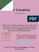 tuck everlasting ideas strategy
