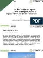 El Proyecto Del Cerrejón