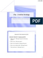 4.2Chp Creative Strategy Implementation and DevelopmentNOTES