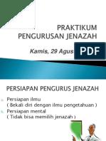 PRAKTIKUM PENGURUSAN JENAZAH