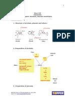 Alcohol phenol ethers