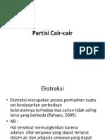 Partisi Cair Cair