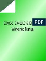 EX400-5, EX400LC-5, EX450LC-5 WM