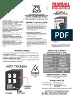 Manual Ev1500e Al v1