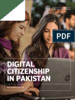 Digital Citizenship in Pakistan