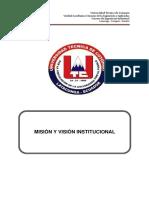 4.1 Mision y Visión UTC