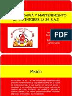 Venta y Recarga de Extintores La 36 Estructura Organizacional