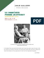 Kukje Le Corbusier