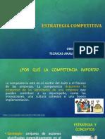 UNIDAD 1 estrategia competitiva