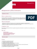Management Des Systemes d Information