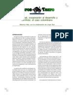 Katz, Mauricio - Seguridad Cooperacion Al Desarrolo Y Conflicto El Caso Colombiano
