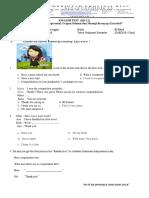 ENGLISH TEST KD 3.2