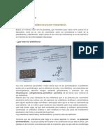 Clase 03. Antibióticos. Mecanismos de Acción y Resistencia.