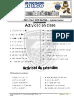 Razonamiento Matemático - 5to Grado - I Bimestre - 2014