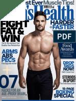 Men's Health magazine UK issue 2017