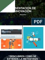 Presentación de Innovación