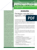 Dossier Salud Nutricion Bienestar Migranas. Julio 2018