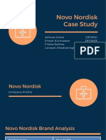 20190927 - Syndicate 8 _ Novo Nordisk Case Study