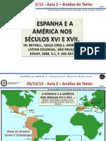 Espanha e a América Nos Séculos XVI e XVI