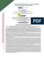 20190408 Prospecto Preliminar CRA