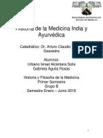 Historia de La Medicina India y Ayurvedi