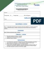 Evaluacion de Octavo Area y Volumen