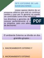 2° EL AMB. EXTERNO DE LAS ORGANIZAC. EXAMEN