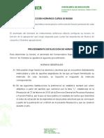 Instrucciones Comienzo de Curso 2019-2020
