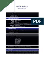 Relatório de dimensionamento de terça