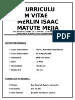 Curriculum Vitae _ Merlin Isaac Matute Mejia (1) 30