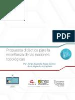 Propuesta Didáctica Para La Enseñanza de Las Nociones Topologicas