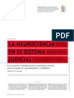 La neurociencia en el sistema judicial