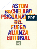 Gaston Bachelard Psicoanalisis Del Fuego 1