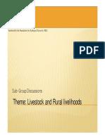 Livestock & Rural Livelihoods