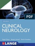 Roger P. Simon, Michael J. Aminoff, David A. Greenberg - Clinical Neurology (LANGE)-McGraw-Hill Education _ Medical (2018).pdf