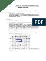 Materiales Utilizados en La Constrcion Del Banco de La Nación