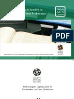 Protocolo Digitalización Documentos Fines Probatorios AGN