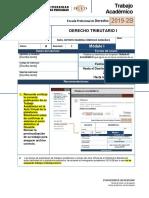 Ta Derecho Tributario i -2019 m1 - Copia